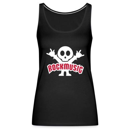 Rockmusic - Frauen Premium Tank Top