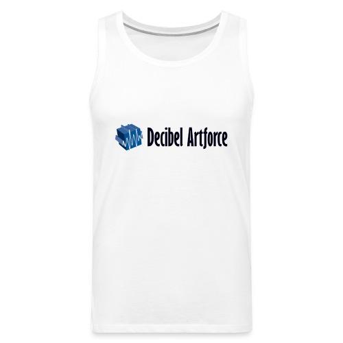 Men's T-Shirt Muscle Decibel Artforce - Männer Premium Tank Top