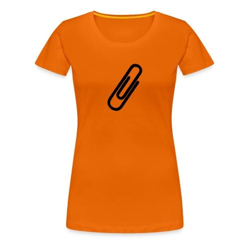 Büroklammer - Frauen Premium T-Shirt