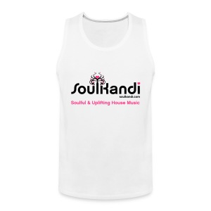 Tank Top with Black & Pink Soul Kandi Tree Logo - Men's Premium Tank Top