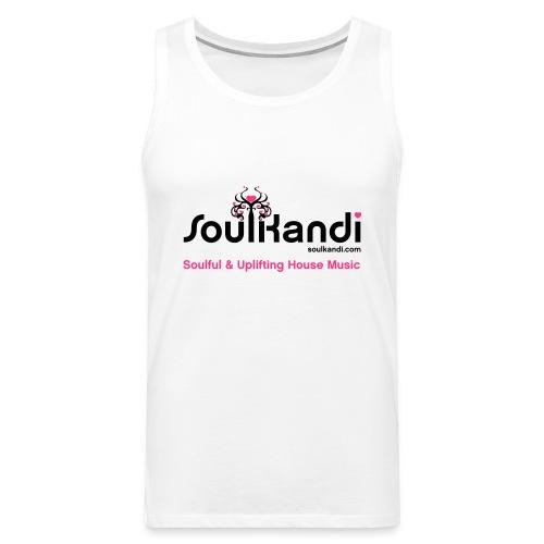 Tank Top with Black & Pink Soul Kandi Tree Logo - Men's Premium Tank Top