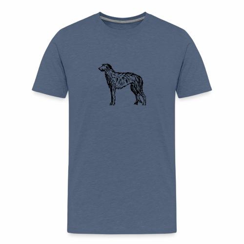 Deerhound 5 - Teenager Premium T-Shirt