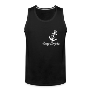Young Origins Mens Anchor Vest. - Men's Premium Tank Top