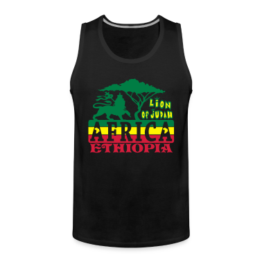 lion of judah africa ethiopia T-Shirts