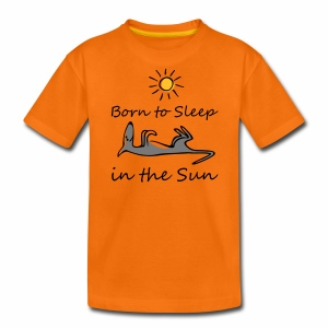 Born to sleep in the sun - Teenager Premium T-Shirt