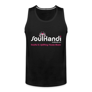 Tank Top with White & Pink Soul Kandi Tree Logo - Men's Premium Tank Top