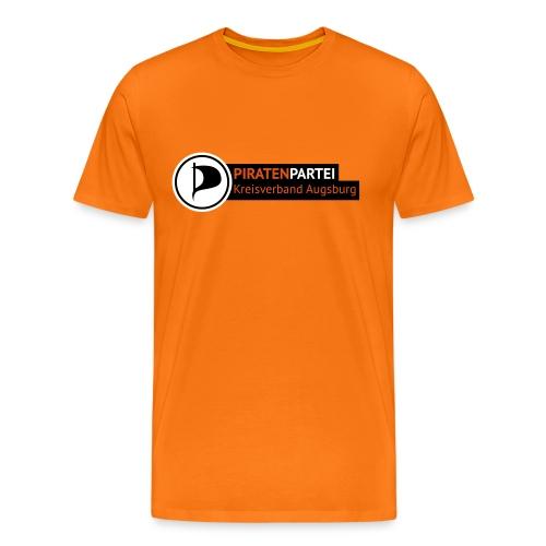 Männer - Motiv 1 - orange - Männer Premium T-Shirt