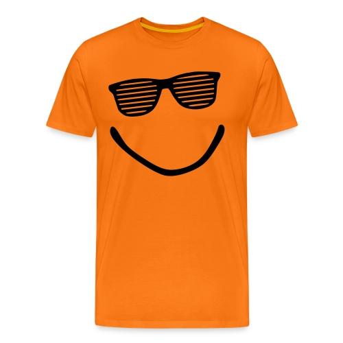 Smile black - Männer Premium T-Shirt