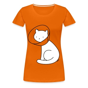 Cone of Shame - Women's Premium T-Shirt
