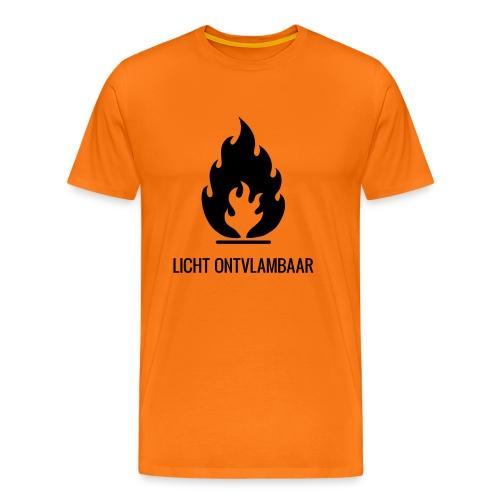 Licht Ontvlambaar - Mannen Premium T-shirt