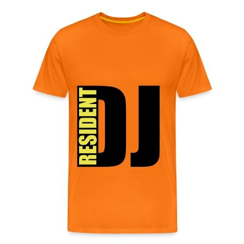 resident dj - Mannen Premium T-shirt