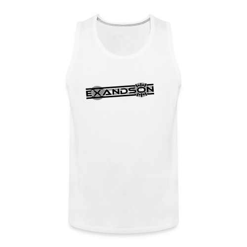 ExAnDsOn White Muscle - Männer Premium Tank Top