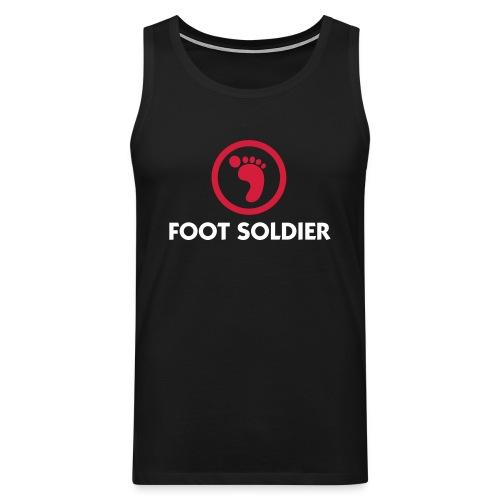 foot soldier - Premium singlet for menn