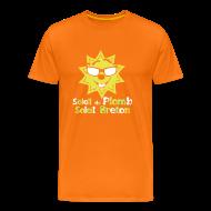 Tee shirts ~ T-shirt Premium Homme ~ Tee shirt homme soleil de plomb soleil breton
