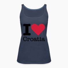 I Love Croatia Tops