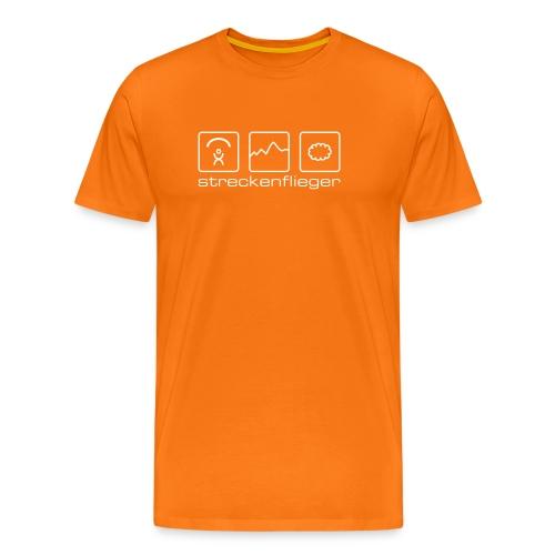 Herren-Shirt «streckenflieger»  - Männer Premium T-Shirt