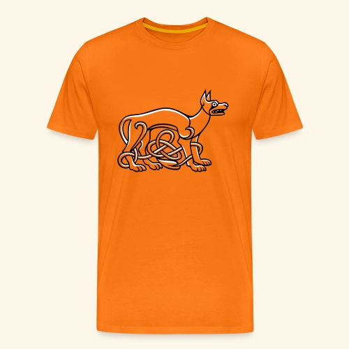 Celtic Dog, Kerlie - Männer Premium T-Shirt