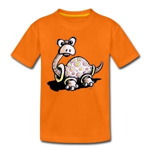 Neugierige Schildkröte - Kinder Premium T-Shirt