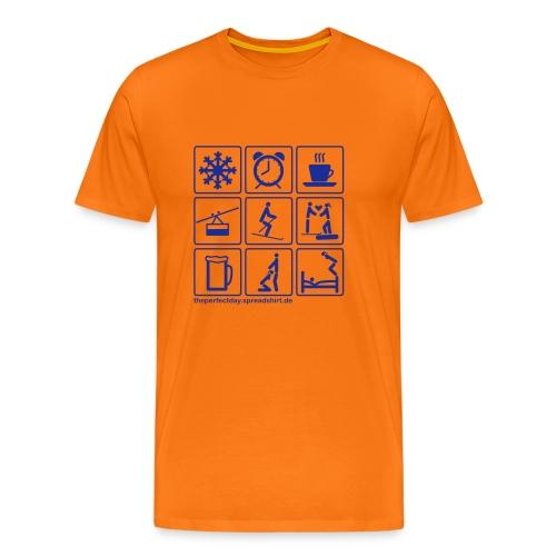 Ski_ohne Headline - Männer Premium T-Shirt