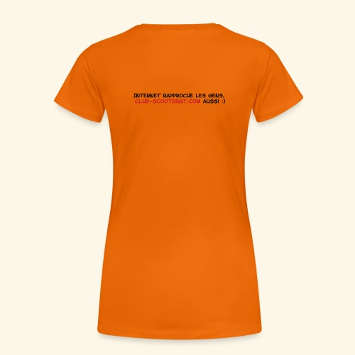 RASSO 2012 BASIC FEMME écriture noire - T-shirt Premium Femme