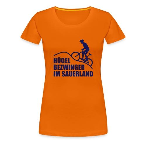 Hügelbezwinger - Frauen Premium T-Shirt
