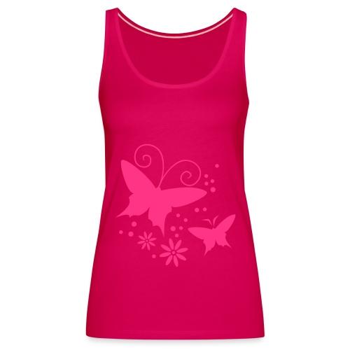 Free butterfly girl - Women's Premium Tank Top