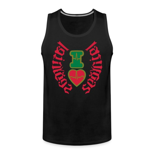 I LOVE LAS VEGAS SEXY GIRL - Men's Premium Tank Top