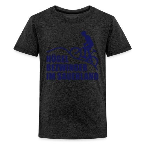 Hügelbezwinger - Teenager Premium T-Shirt