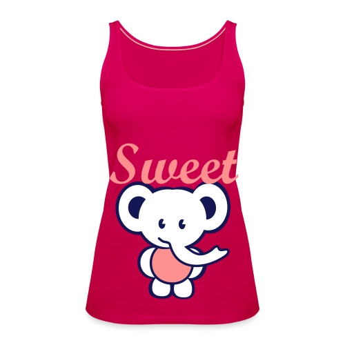 Sweet Elephant - Women's Premium Tank Top