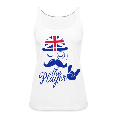 England Gentleman championship player football | olympics sporting moustache Tops