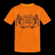 Shirts ~ Kids' Premium T-Shirt ~ Custom retro Holland lions footbal shirt