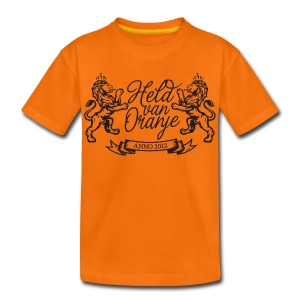 Custom retro Holland lions footbal shirt - Kids' Premium T-Shirt