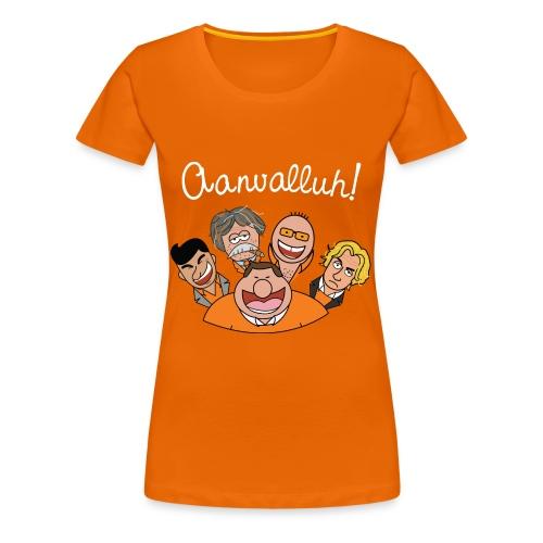 Aanvalluh! - Vrouwen Premium T-shirt