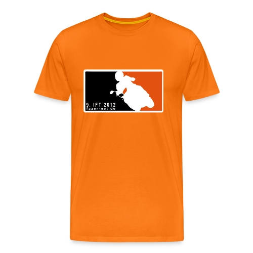 9. IFT - MLB-Style, Type O - Männer Premium T-Shirt