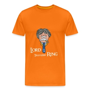Lord of the Televizierring - Mannen Premium T-shirt