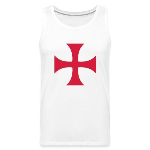 Débardeur croix des Templiers - Débardeur Premium Homme