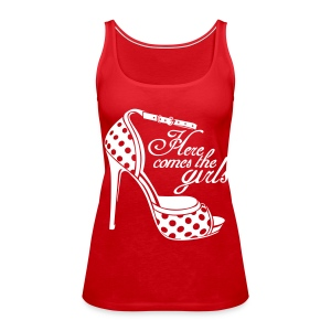 womens shoe top - Women's Premium Tank Top