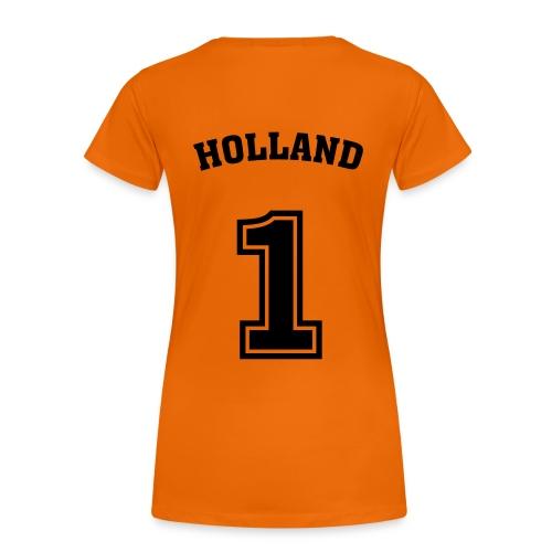Holland #1 [Vrouwen] - Vrouwen Premium T-shirt