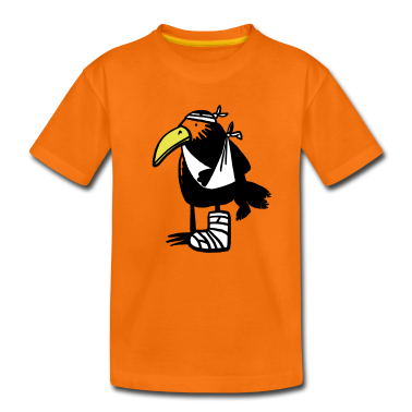 Unlucky Bird  Kids' Shirts