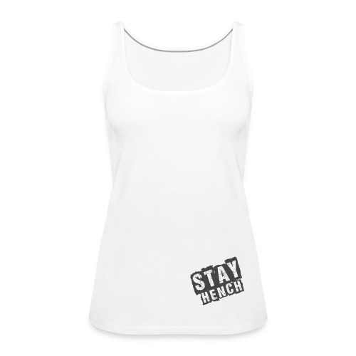Women's Gym TankTop White - Women's Premium Tank Top