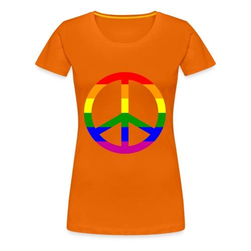 GAY PEACE Shirt - Frauen Premium T-Shirt
