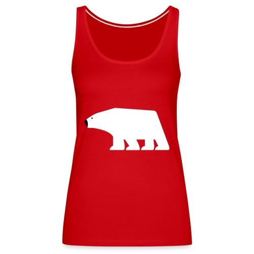 Eisbaer, Polarbear - Frauen Premium Tank Top