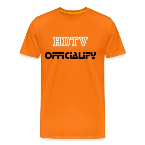 Mens HDTVofficialify t-shirt - Men's Premium T-Shirt