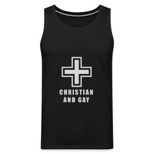 Christian and Gay Tank Top - Men's Premium Tank Top