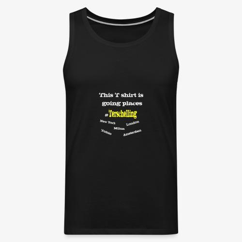 Terschelling T-shirt - Men's Premium Tank Top