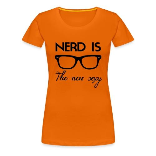 Nerd - Women's Premium T-Shirt