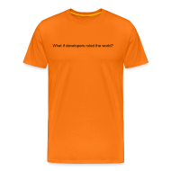 T-Shirts ~ Men's Premium T-Shirt ~ What If