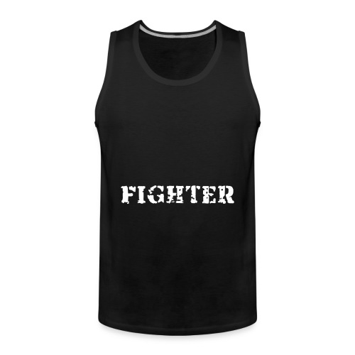 Mannen sport shirt met tekst - Mannen Premium tank top