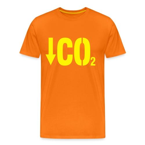 Less C02 - T-shirt Premium Homme