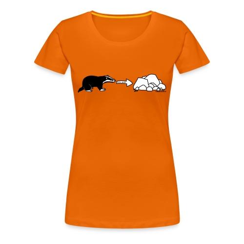 Women's Rock Badger T-Shirt - Women's Premium T-Shirt